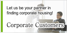 Let us be your partner in finding corporate housing!